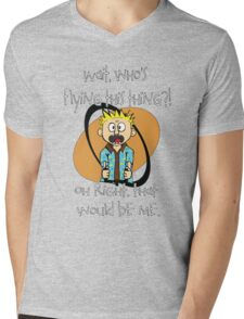 Who's Flying This Thing?! Mens V-Neck T-Shirt