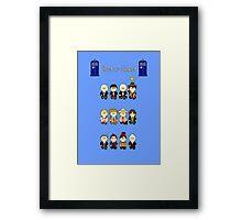 Doctor Select Framed Print