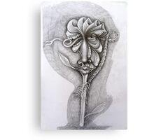 Sad Flower. Canvas Print