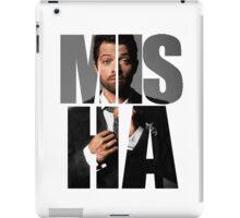 Misha Misha Misha Collins iPad Case/Skin