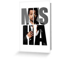 Misha Misha Misha Collins Greeting Card