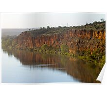 Murray River S.A Cliffs Poster
