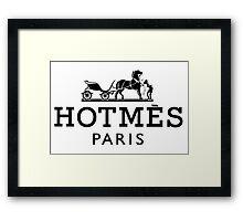 HOTMES-PARIS Framed Print