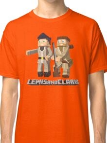 Lewis and Clark - Pixel Art Style Classic T-Shirt