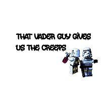That Vader Guy Gives Us the Creeps by Tim Constable by TimConstable