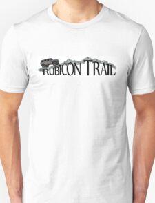 Rubicon Trail Jeep rock adventure T-Shirt