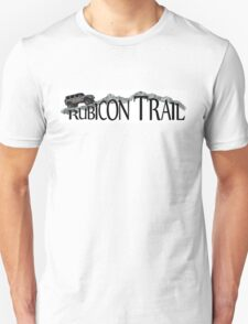 Rubicon Trail Jeep rock adventure T-Shirt