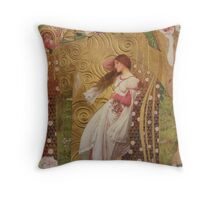 Sara Come Out To Play Throw Pillow