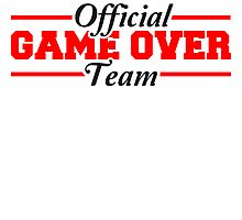 Official Game Over Team by Style-O-Mat