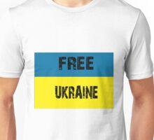 Free Ukraine Unisex T-Shirt