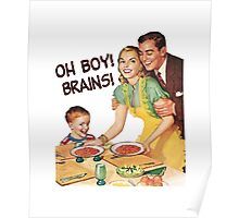 Oh Boy! Brains! Poster