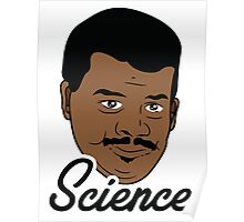 Black Science Man Poster