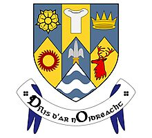 County Clare Coat of Arms  Photographic Print