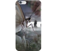 Butterfly reflection iPhone Case/Skin