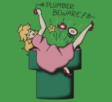 Plumber Beware by TroytleArt