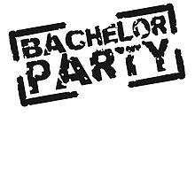 Bachelor Party Team Stempel Design by Style-O-Mat