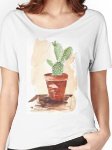 Bunny Ears Cactus (Opuntia microdasys) Women's Relaxed Fit T-Shirt