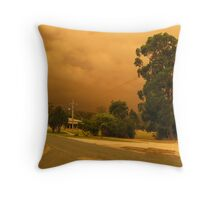 Fires in East Gippsland - February 2014 Throw Pillow
