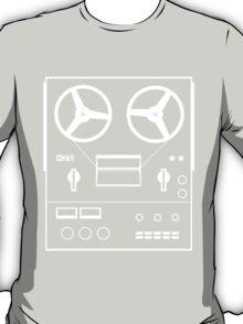 reel tape recorder - white T-Shirt