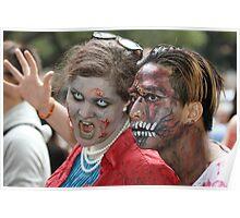 zombie walk Poster