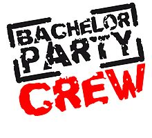Bachelor Party Crew Stempel Design by Style-O-Mat