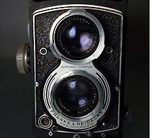 Rolleicord V Twin Lens Reflex camera by Jane McLoughlin