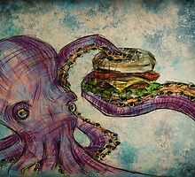 Octopus and Cheeseburger by Megan Cary
