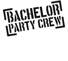 Bachelor Party Crew Stempel by Style-O-Mat