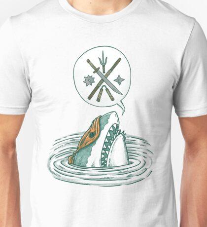 The Ninja Shark Unisex T-Shirt
