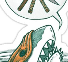 The Ninja Shark Sticker