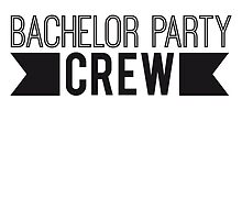 Bachelor Party Crew Logo Design by Style-O-Mat