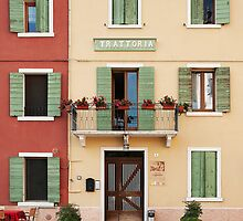 Trattoria Caprini by Robert Dettman