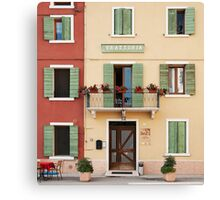 Trattoria Caprini Canvas Print