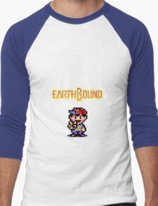 An EarthBound Misfit Men's Baseball ¾ T-Shirt