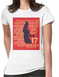 Alexis Sanchez Womens Fitted T-Shirt