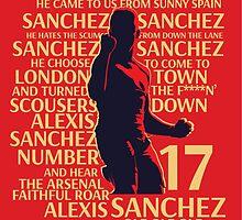 Alexis Sanchez by Virgo Araaf