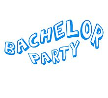 Bachelor Party Comic Style by Style-O-Mat