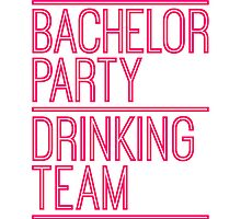 Bachelor Drinking Team Saufen by Style-O-Mat