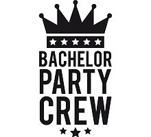 Bachelor crew Crown King by Style-O-Mat