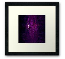 Ridley: Purple Facemelt Framed Print