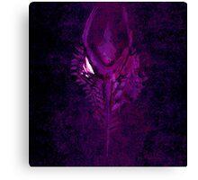 Ridley: Purple Facemelt Canvas Print