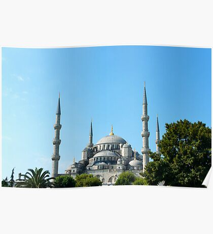 Blue Mosque Poster
