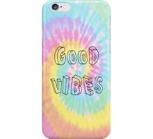 Good Vibes Tie Dye Phone Case iPhone Case/Skin