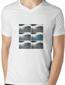 BARRELS Mens V-Neck T-Shirt