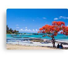 Cap Malheureuex, Mauritius Canvas Print