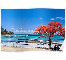 Cap Malheureuex, Mauritius Poster