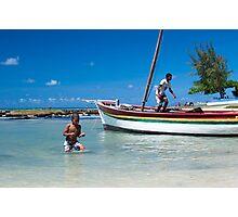 Cap Malheureuex, Mauritius Photographic Print