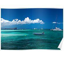 Ile Plate, Mauritius Poster