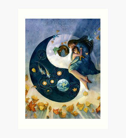 Earth in the Balance Art Print