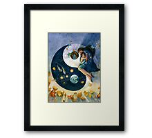 Earth in the Balance Framed Print